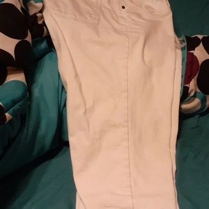 I'm selling a pair of white Eileen Fisher large pa